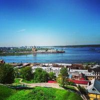 Photo taken at Nizhny Novgorod by Ira K. on 5/12/2014
