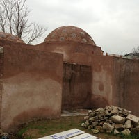Photo taken at Merkezefendi Hamamı by Erhan U. on 2/16/2013