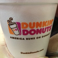 Photo taken at Dunkin' Donuts by Carrie T. on 1/7/2013