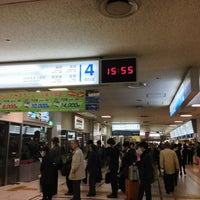 Photo taken at Nishitetsu Tenjin Expressway Bus Terminal by Taishi on 3/6/2013