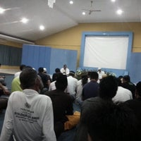 Photo taken at Surau Baitul Amin Sawangan by Ajoull F. on 10/7/2012