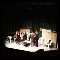 Photo taken at Pesti Színház by Ladanyi Vivi on 2/2/2013