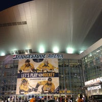 Photo taken at Bridgestone Arena by Scott G. on 3/9/2013