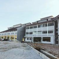 Photo taken at tapak projek sekolah sukan malaysia terengganu by ilyia k. on 10/28/2014