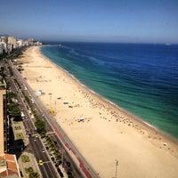 Photo taken at Marina Palace Rio Leblon by Felipe C. on 2/20/2013