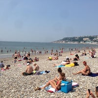 Photo taken at Plage du Havre by Michael H. on 7/7/2013