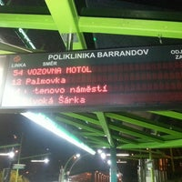 Photo taken at Poliklinika Barrandov (tram, bus) by Jakub S. on 5/1/2013