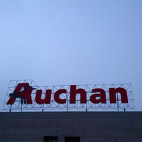 Photo taken at Auchan by Luca P. on 3/17/2013