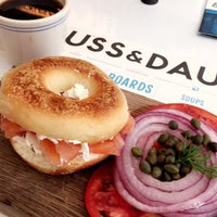 Photo taken at Russ & Daughters Café by Chendo T. on 7/6/2016
