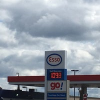 Photo taken at Esso by Michael H. on 9/1/2017
