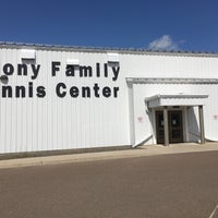 Photo taken at Abony Family Tennis Center by Michael H. on 8/25/2017