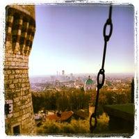Photo taken at Castello di Brescia by Roberto B. on 12/30/2012
