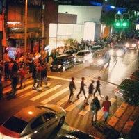 Photo taken at Rua Augusta by Thiago E. M. on 4/21/2013