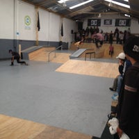 Photo taken at central skatepark by Victor A. on 9/13/2014