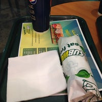 Photo taken at SubWay by Saud D. on 10/8/2013
