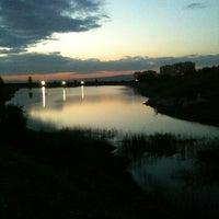 Photo taken at Bilkent Gölü by 🇦 🇱 🇮 . on 5/7/2013