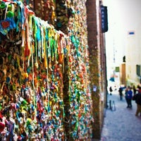 Photo taken at Gum Wall by Chio B. on 7/1/2013