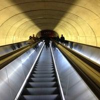 Photo taken at Dupont Circle by Justin L. on 1/4/2013