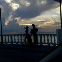 Photo taken at Malecón by Miguel C. on 10/9/2012
