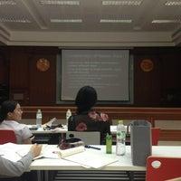 Photo taken at ห้อง ร.103 ศ.ทวี แรงขำ (PO 103 Room) by Pim S. on 8/20/2013