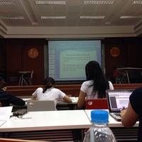Photo taken at ห้อง ร.103 ศ.ทวี แรงขำ (PO 103 Room) by Pim S. on 10/7/2013