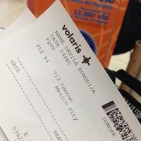 Photo taken at Volaris Ticket Counter by ɑմɾɑ ϲɑɾօ on 12/24/2012
