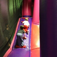 Photo taken at Bounce House Williamsburg by Jessica W. on 2/26/2013
