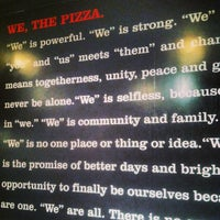 Photo taken at We, The Pizza by Sofiya M. on 2/18/2013