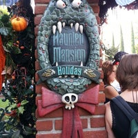 Photo taken at Haunted Mansion by Anthony C. on 10/6/2012