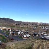 Photo taken at Dakota Ridge RV Park by Adam M. on 4/22/2014