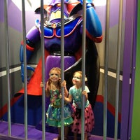 Photo taken at Buzz Lightyear's Space Ranger Spin by Beth B. on 2/21/2013