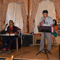 Photo taken at RM. Saung Desa by Doni B. on 7/9/2015