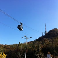Photo taken at Namsan Cable Car by Dear K. on 11/1/2012