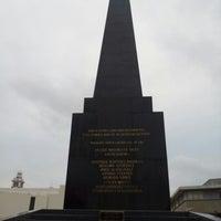 Photo taken at Monumento a las 4 Veces Heroica Veracruz by Luis Antonio M. on 12/30/2012
