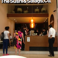 Photo taken at The Sushi & Salads, Co. by Abe M. on 5/24/2013