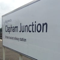 Photo taken at Clapham Junction Railway Station (CLJ) by Cy R. on 5/17/2013