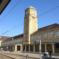 Photo taken at Basel Baden Railway Station by Rolf H. on 3/4/2013