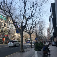 Photo taken at Huaihai Middle Road by King L. on 3/10/2018