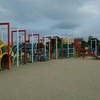 Photo taken at 宮の沢ふれあい公園 by King L. on 7/6/2013