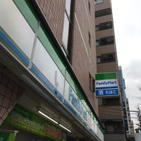 Photo taken at FamilyMart by 電源カフェ @. on 2/21/2018