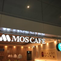 Photo taken at MOS Cafe by 電源カフェ @. on 1/20/2018