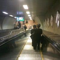 Photo taken at 4. Levent Metro İstasyonu by Barış D. on 11/13/2012