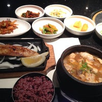 Photo taken at Han Gang Korean Cuisine by Wonkyun L. on 7/3/2014