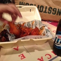 Photo taken at Wingstop by Marco R. on 10/6/2012