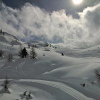 Photo taken at Monte Spinale by Angela D. on 2/15/2014