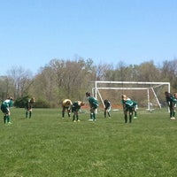 Photo taken at Wappingers Soccer Field by Ray C. on 5/5/2013