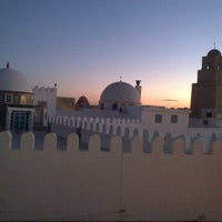 Photo taken at جامع عقبة بن نافع | La Grande Mosquée | Great Mosque of Kairouan by Hassen B. on 12/19/2012