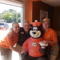 Photo taken at A & W by A & W on 2/1/2015