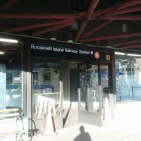 Photo taken at MTA Subway - Roosevelt Island (F) by Sean A. on 4/30/2013
