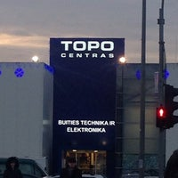 Photo taken at Topo Centras by Rimas B. on 12/14/2013